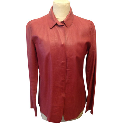 Burberry Prorsum leather blouse
