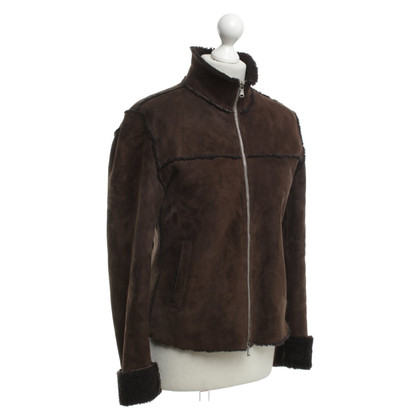 Max & Co Lammfelljacke in Braun