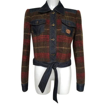 D&G Jacket with checked pattern