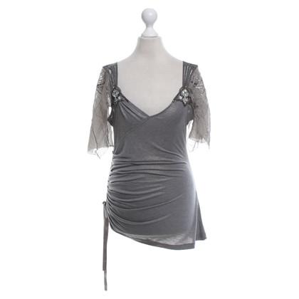 Karen Millen top in grey