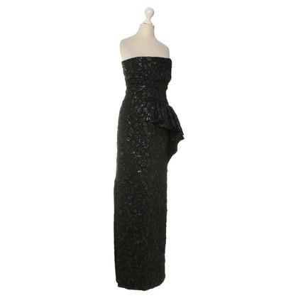 Moschino Bustier dress with asymmetrical skirt
