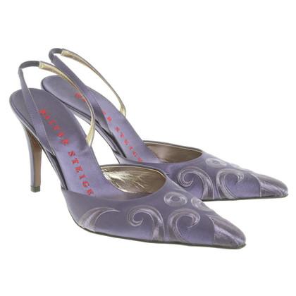 Walter Steiger Sling-pumps in lilac