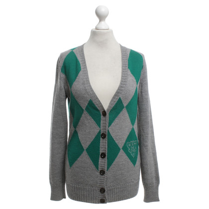 Gucci Cardigan with rhombus pattern
