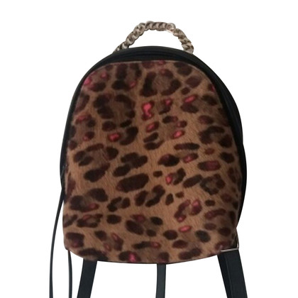 Furla spy calf hair mini backpack