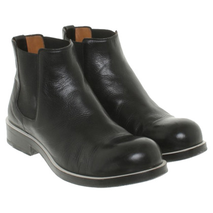 Jil Sander Chelsea boots in mens style