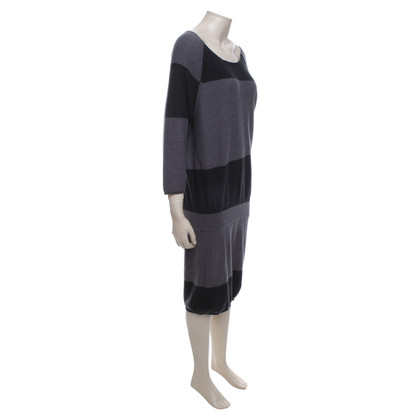 Humanoid Knitted dress in grey / dark gray