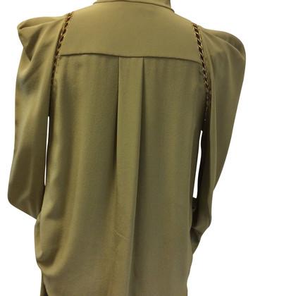 Chloé Combi Silk Blouse + Shorts