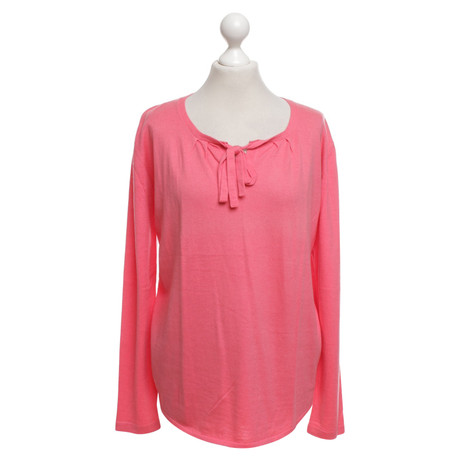 Allude Pullover in Korallrot Rosa / Pink