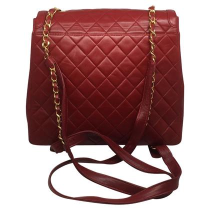 Chanel Borsa di pelle rossa