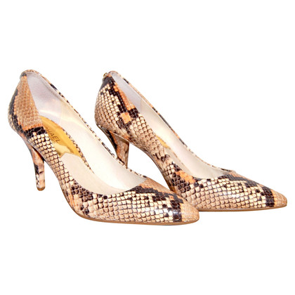 Michael Kors Leder-Pumps in Reptiloptik