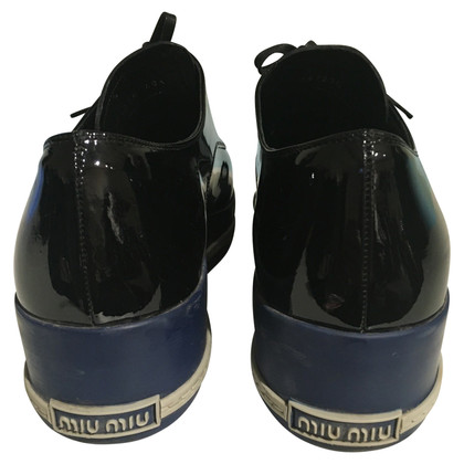 Miu Miu Sneakers with patent leather