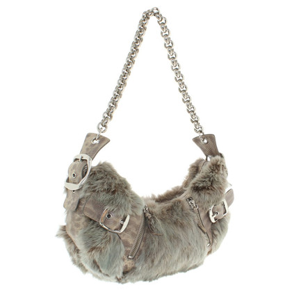 DKNY Handbag made of fur