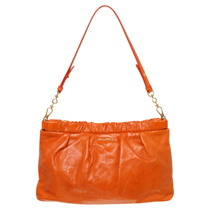 Miu Miu clutch a Orange