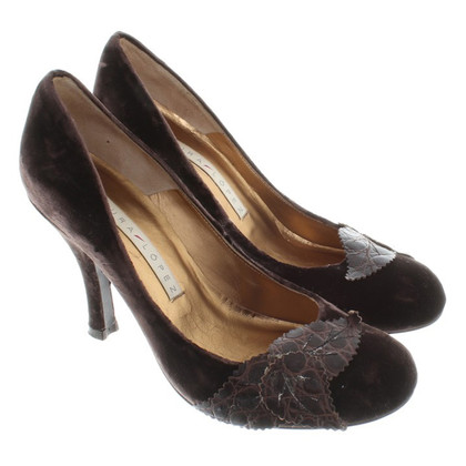 Pura Lopez pumps velours