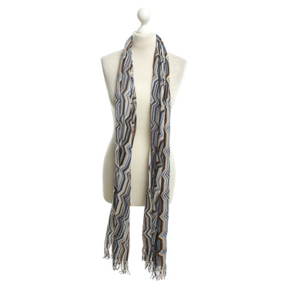 Missoni Scarf with graphic pattern