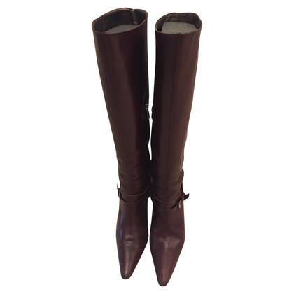 René Caovilla Leather boots