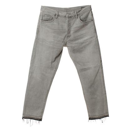 Andere Marke Corey Crop - Jeans in Grau