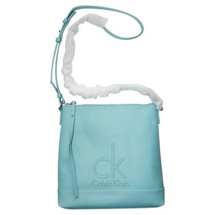 Calvin Klein Schultertasche in Blau