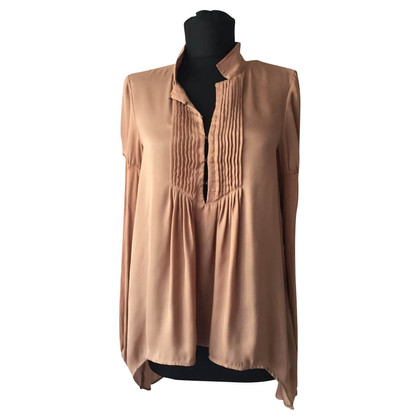 Patrizia Pepe Brown blouse