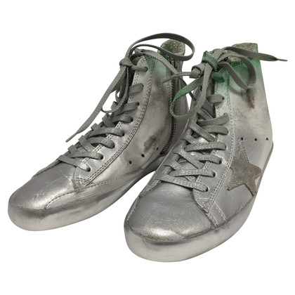 Golden Goose Silver High sneakers