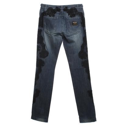 Dolce & Gabbana Jeans con pizzo