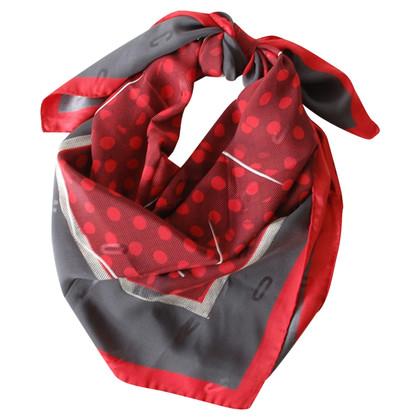 Moschino Silk scarf with print