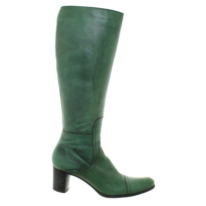 Costume National Boots in green
