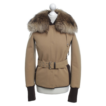 Prada Jacket in brown / cream
