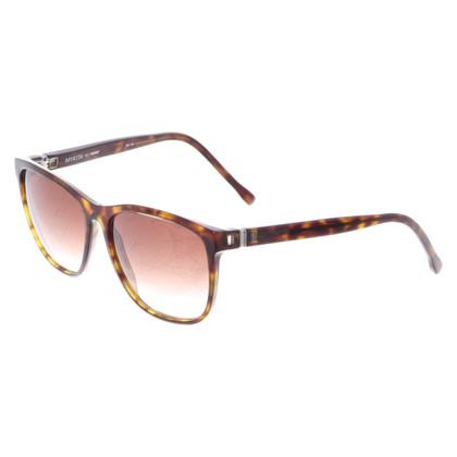 Mykita Sonnenbrille in Braun