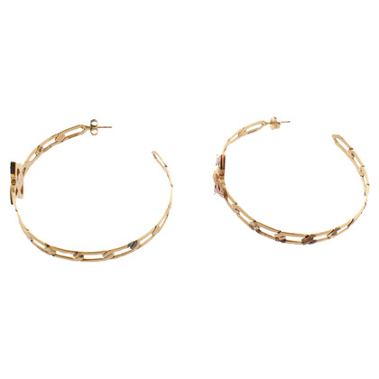 Louis Vuitton Hoops with gemstones