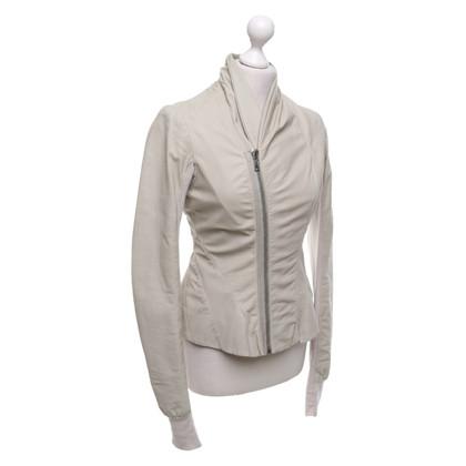 Rick Owens Leather jacket in beige