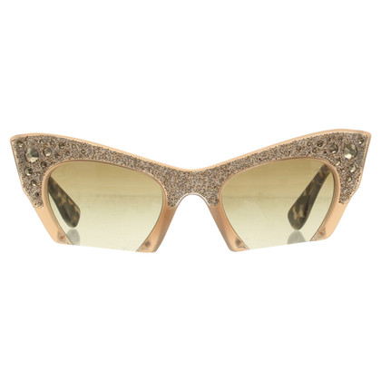 Miu Miu Sonnenbrille in Braun