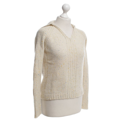 Malo Knit sweater in beige