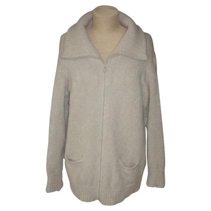 Isabel Marant Grobstrick-Jacke in Creme