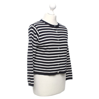 Karen Millen Cardigan in Black / Crema