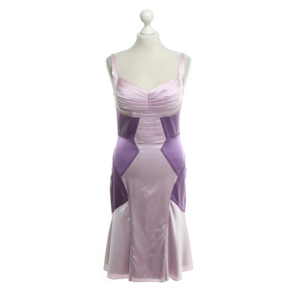Zac Posen Silk dress in bicolor