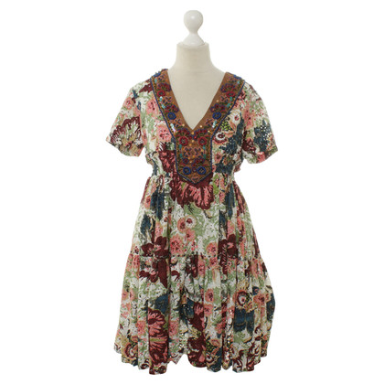 Twin-Set Simona Barbieri Summer dress with a floral pattern