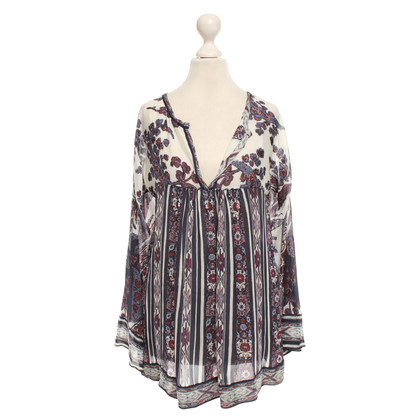 Isabel Marant Etoile Bluse mit floralem Print