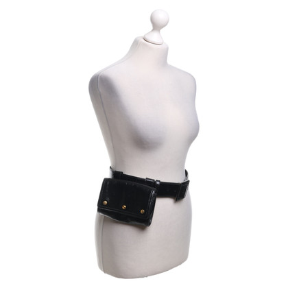 Yves Saint Laurent Belt bag made of patent leather