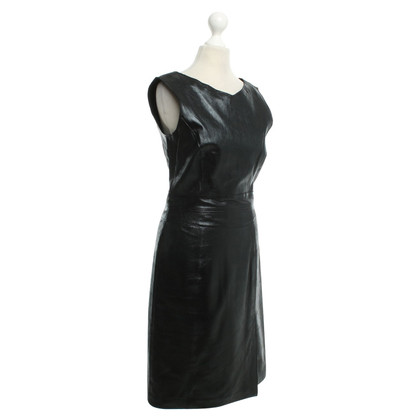 Arma Leather dress in black