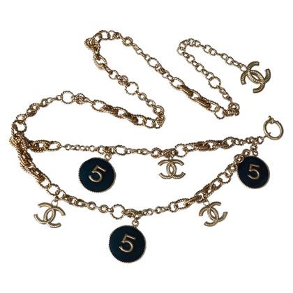 Chanel Sautoir ketting / riem N ° 5 medaillons