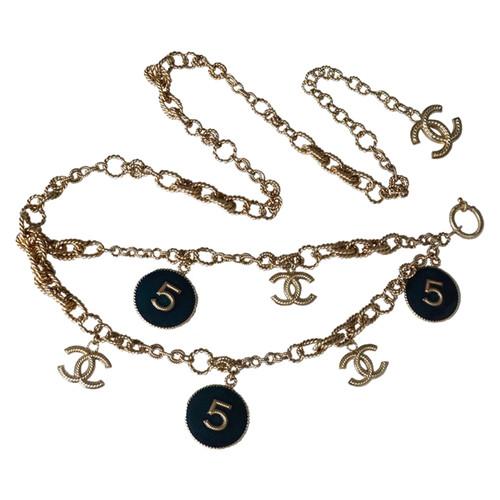 offrire sconti vendita professionale eccezionale gamma di stili e colori Chanel Collana Sautoir / cintura N ° 5 Medaglioni - Second ...