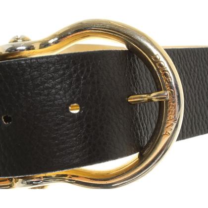 Dolce & Gabbana Belt in Black