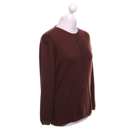 Malo Cashmere jacket in brown