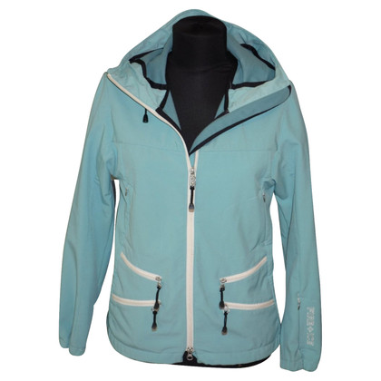 Bogner Fire + Ice softshelljas in turquoise