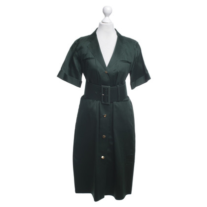 Céline Dress in dark green