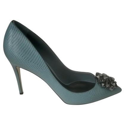 Dolce & Gabbana Bellucci verfraaide Leren pumps