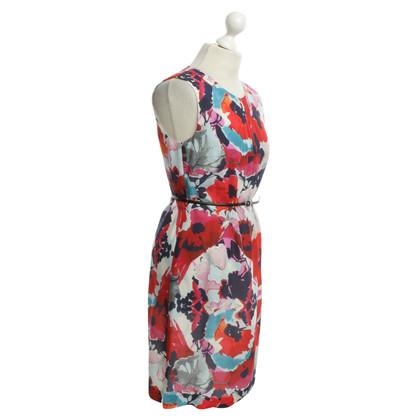 Hugo Boss Kleid mit Blumen-Print