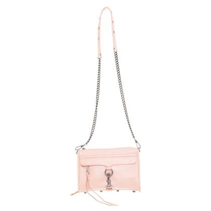 """Rebecca Minkoff """"Mac mini"""" in zalm roze"""