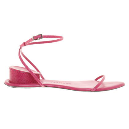 Jil Sander Sandals in fuchsia